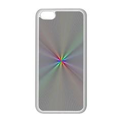 Square Rainbow Apple Iphone 5c Seamless Case (white)
