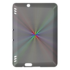 Square Rainbow Kindle Fire Hdx Hardshell Case