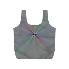 Square Rainbow Full Print Recycle Bags (s)