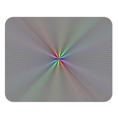 Square Rainbow Double Sided Flano Blanket (large)