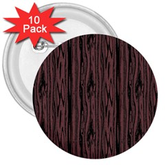 Grain Woody Texture Seamless Pattern 3  Buttons (10 Pack)