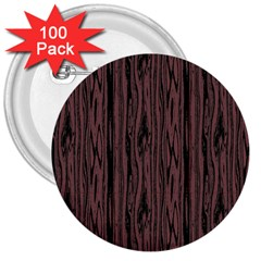 Grain Woody Texture Seamless Pattern 3  Buttons (100 Pack)