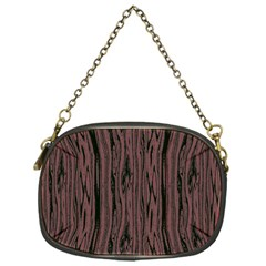 Grain Woody Texture Seamless Pattern Chain Purses (one Side)