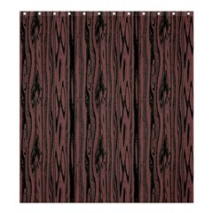 Grain Woody Texture Seamless Pattern Shower Curtain 66  x 72  (Large)