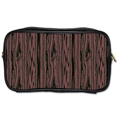 Grain Woody Texture Seamless Pattern Toiletries Bags
