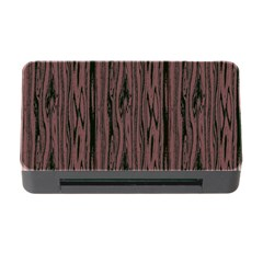 Grain Woody Texture Seamless Pattern Memory Card Reader with CF