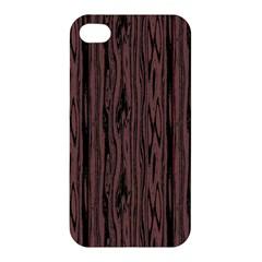 Grain Woody Texture Seamless Pattern Apple Iphone 4/4s Hardshell Case