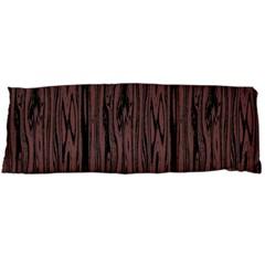 Grain Woody Texture Seamless Pattern Body Pillow Case (Dakimakura)