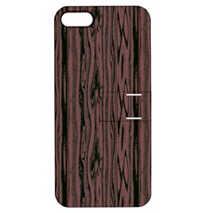 Grain Woody Texture Seamless Pattern Apple Iphone 5 Hardshell Case With Stand