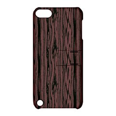 Grain Woody Texture Seamless Pattern Apple Ipod Touch 5 Hardshell Case With Stand