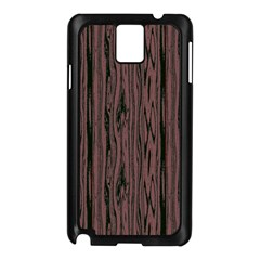 Grain Woody Texture Seamless Pattern Samsung Galaxy Note 3 N9005 Case (black)