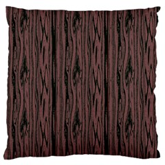 Grain Woody Texture Seamless Pattern Large Flano Cushion Case (one Side)