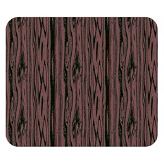 Grain Woody Texture Seamless Pattern Double Sided Flano Blanket (small)