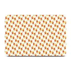 Candy Corn Seamless Pattern Plate Mats