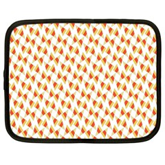 Candy Corn Seamless Pattern Netbook Case (Large)