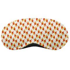 Candy Corn Seamless Pattern Sleeping Masks