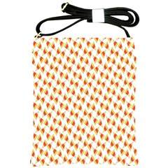 Candy Corn Seamless Pattern Shoulder Sling Bags