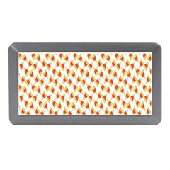 Candy Corn Seamless Pattern Memory Card Reader (mini)