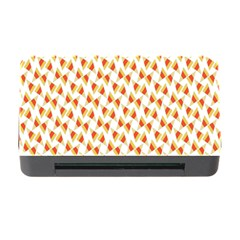 Candy Corn Seamless Pattern Memory Card Reader With Cf