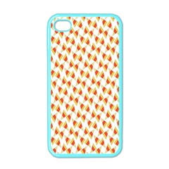 Candy Corn Seamless Pattern Apple Iphone 4 Case (color)