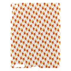 Candy Corn Seamless Pattern Apple iPad 3/4 Hardshell Case
