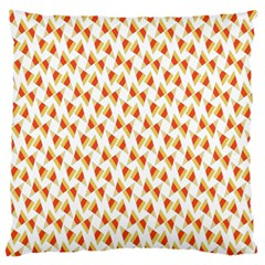 Candy Corn Seamless Pattern Large Cushion Case (two Sides)