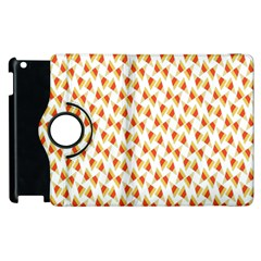 Candy Corn Seamless Pattern Apple Ipad 2 Flip 360 Case