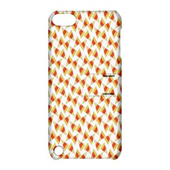 Candy Corn Seamless Pattern Apple Ipod Touch 5 Hardshell Case With Stand