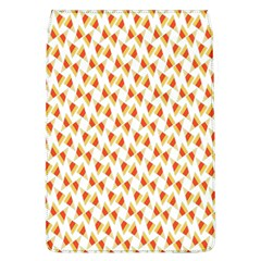 Candy Corn Seamless Pattern Flap Covers (L)