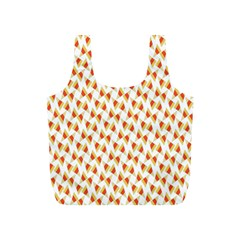 Candy Corn Seamless Pattern Full Print Recycle Bags (s)