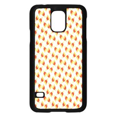 Candy Corn Seamless Pattern Samsung Galaxy S5 Case (black)