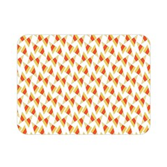 Candy Corn Seamless Pattern Double Sided Flano Blanket (mini)