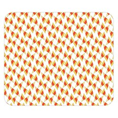 Candy Corn Seamless Pattern Double Sided Flano Blanket (small)
