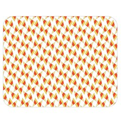 Candy Corn Seamless Pattern Double Sided Flano Blanket (Medium)