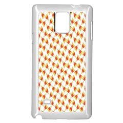 Candy Corn Seamless Pattern Samsung Galaxy Note 4 Case (white)