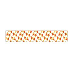 Candy Corn Seamless Pattern Flano Scarf (Mini)