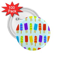 Popsicle Pattern 2 25  Buttons (100 Pack)