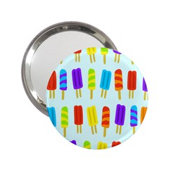 Popsicle Pattern 2 25  Handbag Mirrors