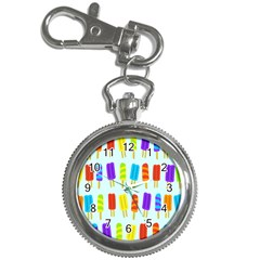 Popsicle Pattern Key Chain Watches