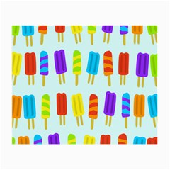 Popsicle Pattern Small Glasses Cloth