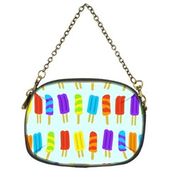 Popsicle Pattern Chain Purses (one Side)
