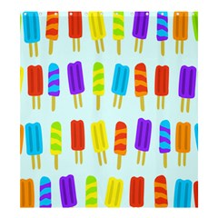 Popsicle Pattern Shower Curtain 66  X 72  (large)