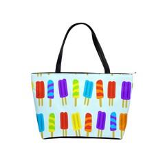 Popsicle Pattern Shoulder Handbags