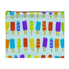Popsicle Pattern Cosmetic Bag (XL)