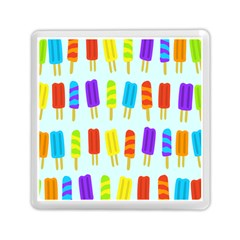 Popsicle Pattern Memory Card Reader (square)