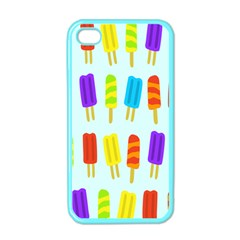 Popsicle Pattern Apple Iphone 4 Case (color)