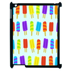 Popsicle Pattern Apple Ipad 2 Case (black)