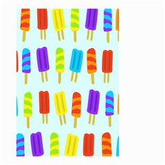 Popsicle Pattern Small Garden Flag (two Sides)
