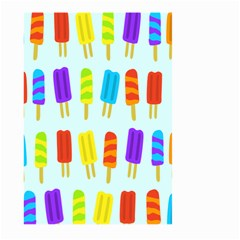 Popsicle Pattern Large Garden Flag (two Sides)