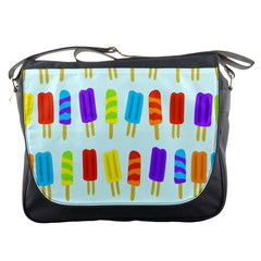 Popsicle Pattern Messenger Bags